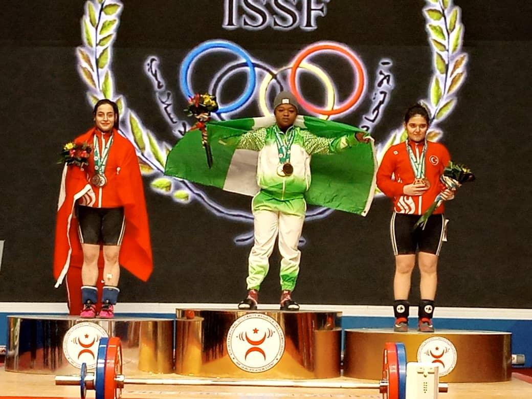 Rofia Lawal Won 3 Gold Medals At At The 6th International Solidarity Champioship Held In Uzbeskistan